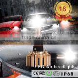 2016 new product led motorcycle headlight COB 3C H1 led head lighting bulb for automobiles & motorcycles
