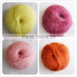 Various Colors Hand Angora Mohair Yarn Knitting Wool Yarn Lace Mohair Yarn