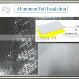 double sided fiberglass with aluminium foil faced foam insulation