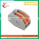 Sineyi Promotion Price Cheapest terminal clamps test Easy crimping female Wago 222 series Push Wire Connector