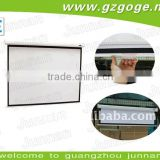 bright overhead projector screen