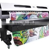 1.8m width ECO SOLVENT PRINTER, with 2 ORIGINAL ESPON DX5 print heads