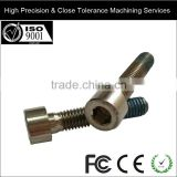 Socket and Tapered Titanium Screw/ Bolts for Bicycle