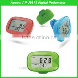 For EU market best seller step counter and calorie meter fitness pedometer