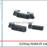 China Double Control 4V220-08 Two Position Five Way Solenoid Valve