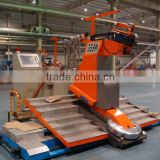 Tire tread winding machine of OTR radial tire making