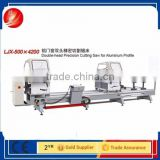 discount price one or two head saw aluminium windows and doors cutting machine