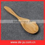 Fruit Spoon Small Size Natural Thick Bamboo Ladle Watermelon Spoon
