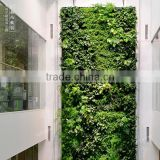 Home and outdoor decoration synthetic cheap artificial vertical green grass wall E08 04Q80