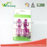 WCTS02M 4 pcs stainless steel colorful table cloth clip set promotional free sample table clip