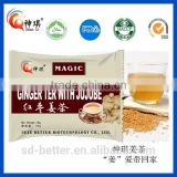 Manufacture chinese Natural Organic Flora Herbal Tea honey ginger tea, organic ginger tea