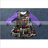 Fashion Halloween kid garment baby clothes boutique Halloween baby dress