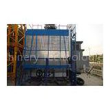 Safety Rack and Pinion Hoist for Construction Material and Personal , Single Lifting Cage