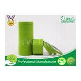 High Temperature Green Masking Tape 1 Inch Textured Material No Glue Residue
