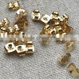 Gold Stainless Steel Earrings Findings Earrings Safety Back Stoppers Stainless Steel Earnuts Jewelry Findings