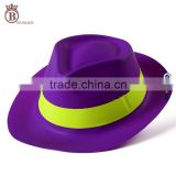 Cheap Funny Adult Fluorescent Color Plastic Party Cowboy Hat
