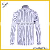 2017 Latest Custom Stripe Pictures Of Formal Shirts Men