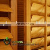 Bamboo window shutters