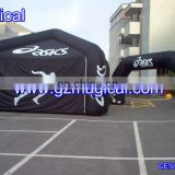advertising inflatable mini tent with arch for sport use
