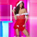 new beautyslove Sexy red christmas costume New design cheap women sexy christmas Lingerie