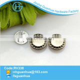 Wholesale fashion design chrome rivets for clothes accessories