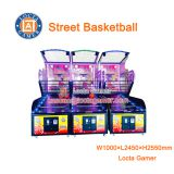 Zhongshan Locta amusment park equipment, MVP street basketball for indoor, game machine, coin operated, arcade throwing