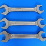 China factory sale buy double open end solid mechanical wrench spanner price