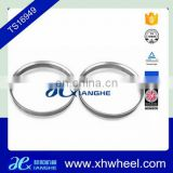 Alloy White Aluminum Hub Centric Rings 73.1 OD to 57.1 ID
