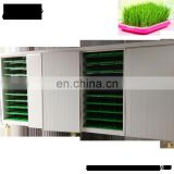 greenhouse fodder sprouting machine/grass sprouting machine/mung bean sprout growing room with barley grass tray