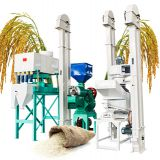 Mini rice mill production line