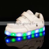 China Hight quality Manufacturer supplier Fashion PU luminous flashing led light shoes for men and women girls and boys lovers