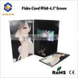 China wholesale video in print greeting card with wedding cards Video in Print greeting card