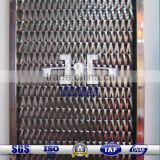 Stainless Steel Flat Wire Spiral Woven Decorative Mesh for Architecture Decoration| Balance Weave Conveyor Belt