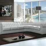 Hottest Low Price High Quality Half Moon Leather Sofa For Sale                                                                         Quality Choice