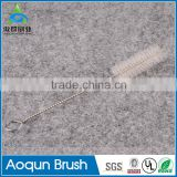 Stainless Steel Nylon Straw Cleaners Cleaning Drinking Pipe Brushes