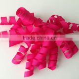 High Quality Fabric Ribbon Bow/PP Decorative Curly Ribbon for Gift Wrapping/ Mesh Ribbon Curly Bow/plastic ribbon bow