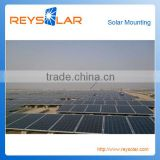 Solar Module Mounting Structures aluminum bolts and screws on-grid solar mounting system