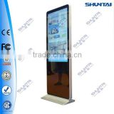 55inch iphone informmation signage touch screen lcd advertising player advertising signage