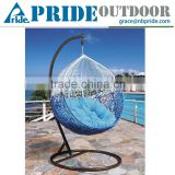 Gradient Egg Chair Indoor Outdoor Swing Sets For Adults Round Rattan Outdoor Bed Outdoor Swing