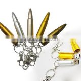promotional gift cheaper usb 2.0 metal bullet shape usb flash drives key chain with logo