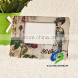 promotional fridge magnet photo frames,wholesale china colorful paper fridge magnet sticker