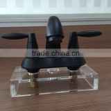 4'' Centerset Lav. Faucet/basin faucet with Brass Drain with Metal Black                                                                         Quality Choice