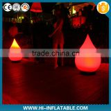 sparkling lighting inflatable ball outdoor decorations with the led lights for event,party