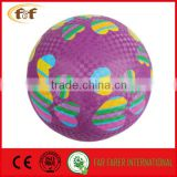 "8.5"" soft toch kids play Rubber Playground ball"