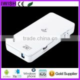 3D DLP mini led hd projector wifi support Android iOS Windows Mac