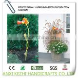 Hand-painted Metal Crafts Garden Stakes Anti-rust Protection