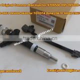 Denso Original Common Rail Fuel Injector 095000-0950 095000-0951 095000-0630 for TOYOTA Dyna 23670-30040 23670-39045