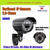 960P 1.3MP hd cctv ir board 2.8-12mm varifocal lens with 60M Long Night Vision
