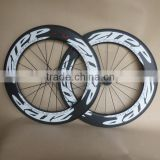 88mm carbon wheels ruote carbonio 700C track bike wheels                                                                         Quality Choice