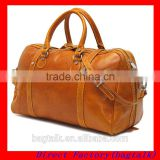 Factory Direct Sell Europe Design Christmas Ornaments New Products Genuine Leather Duffle Bag Men